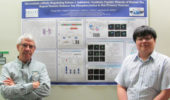 Dr. Robert Colvin and Cheng Qian present at Experimental Biology 2017.