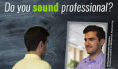 Mohammadhossein Firouznia discusses how to sound more professional after taking an English Language Improvement Program course.