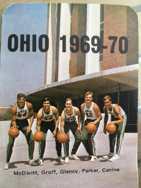 Ohio 1969-70 basketball photo