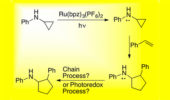 Abstract image for visible-light-mediated photoredox reactions