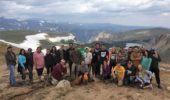 2017 Field Geology participants in Montana
