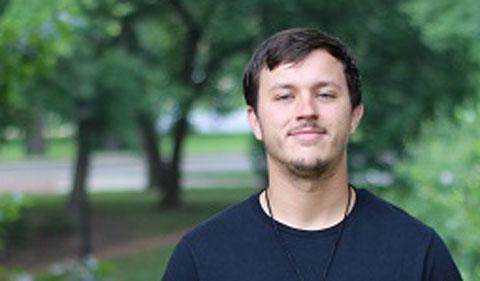 Trey Klopfenstein, photo taken outside