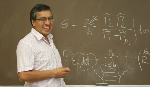 Physicist Sergio Ulloa