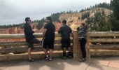 Trey, Hanna, Pete, and I at Bryce Canyon National Park