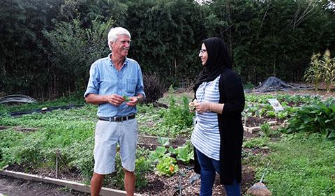 Dr. Trese and Hams Masoud Bakhit Kashoob