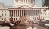 Steve Ellis in front of U.S. Capitol