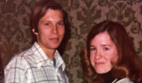 Alumni Richard Clayton and Holly Hazard