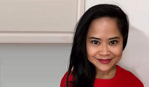 A smiling Kat Maramba