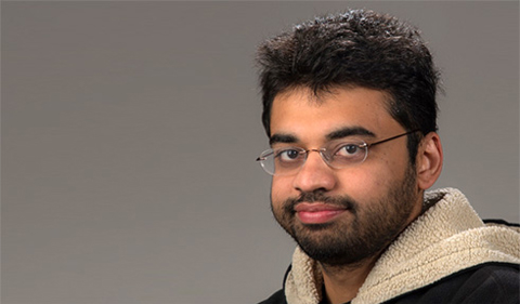 Pratik Shriwas, portrait
