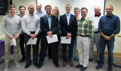 German Honor Society Delta Phi Alpha Inducts New Members