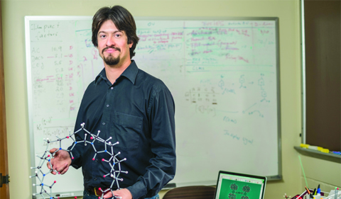 Eric Masson studies pumpkin-shaped Cucurbituril molecules