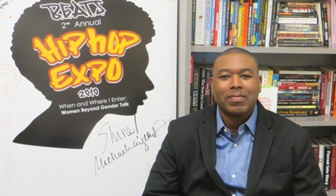 Dr, Akil Houston, portrait in his office