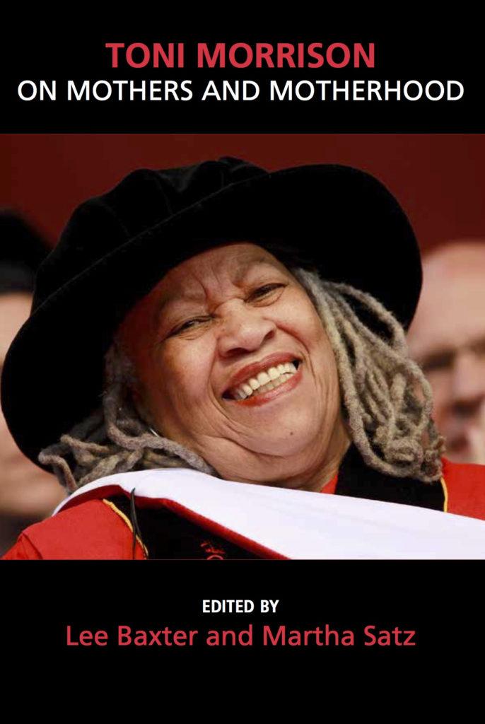 Book cover, headshot of Toni Morrison