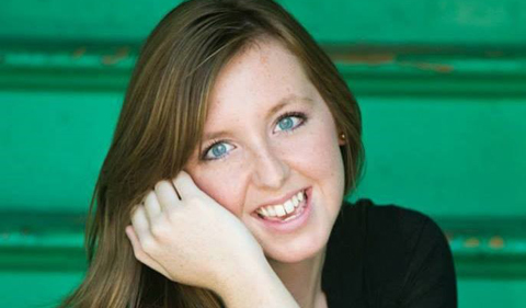 Caitlin Morgan, portrait