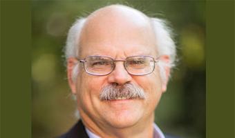 Dr. David Castner, photo taken outside