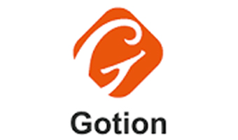 Gotion logo, big G in orange color