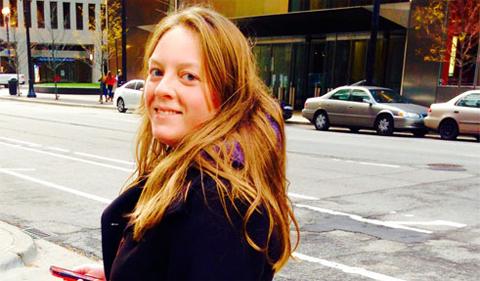 Hannah Osborn, portrait and streetscape