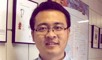 Dr. Liangliang Sun, photo taken in office