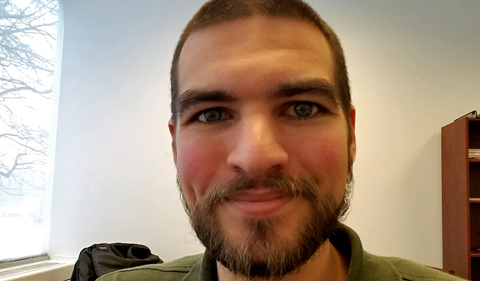Michael Moehring, selfie portrait