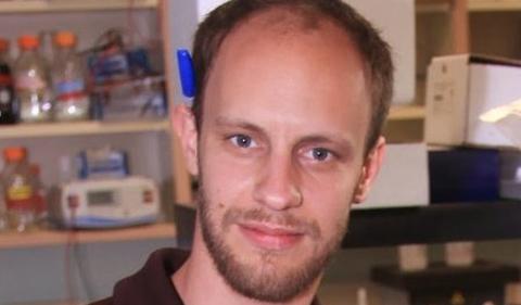 Richard Wiemels, portrait in lab