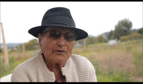 Ms. M. Teresa C. Cacuango, community member in Pichinga Province, Ecuador