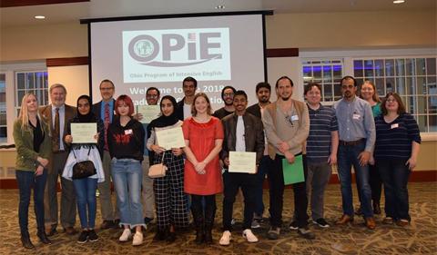 2018 OPIE graduates, group photo