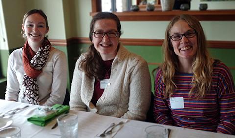 Jackie Kloepfer, Jenny Shank, and Erica Andrews
