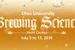 Brewing Science Short Course for Alumni, Community, July 9-13