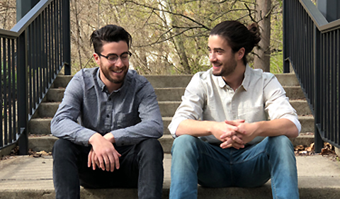 Ari and Zak Blumer