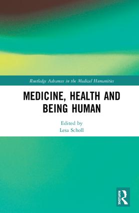Green book cover, Medicine, Health, and Being Human