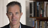 Geoff Dyer. Photo credit: Matt Stuart.