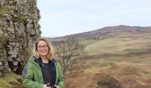 Kristin Osborne in Scotland