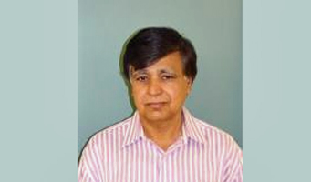 Dr. S. Ejaz Ahmed, portrait