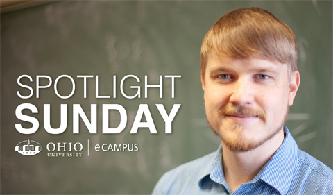 eCampus Spotlight Sunday features Erik Hieta-aho, portrait