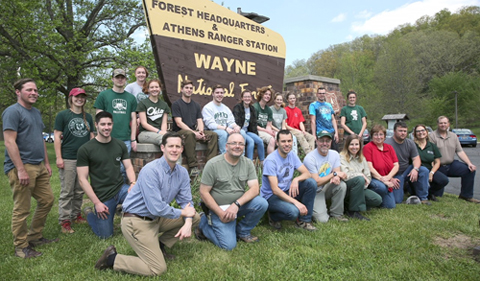 CAS and Wayne National Forest Continue Successful Internship Program