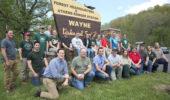 Interns Go to Work on Wayne Bailey's Mountain Bike, Acorn Projects