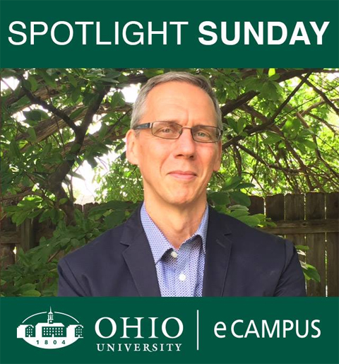 eCampus features Dr. Loren Lybarger on Spotlight Sunday.