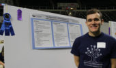 Peter Andrews, Blue Ribbon Winner at Student Research Expo