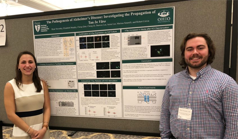 Yavorsky Presents on Alzheimer's Disease at the Ohio Osteopathic Symposium