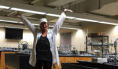 Chelsea Lang '16 works at NSL Analytical Services in Cleveland.