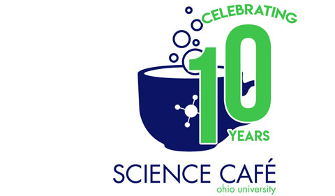 2018 cafe conversation logo, noting 10 year anniversary