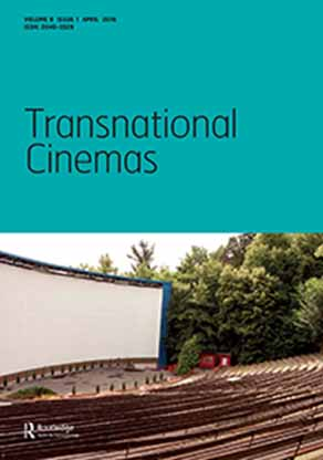 , Aporias of Foreignness: Transnational Encounters in Cinema book cover, showing empty outdoor stage
