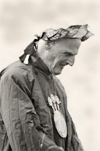 Richard Morton Nance, grand bard 1934-59, in black and white photo