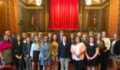 Summer Law & Trial Institute students at the Supreme Court of Ohio