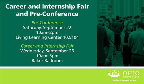 Career and Internship Fair and Pre-Conferenxce