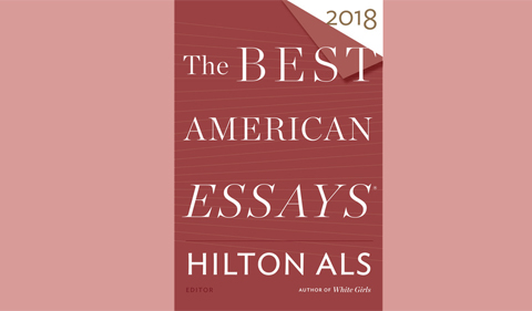 Cover for Best American Essays 201 by Hilton Als