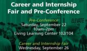 Career Corner | Career and Internship Fair Pre-Conference, Sept. 22