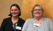 Adriana Bankston and Lisa Maatz led discussions at Graduate Career Day.