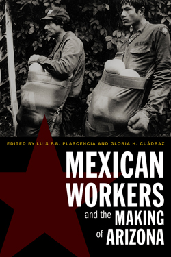 Book cover for Mexican Workers and the Making of Arizona.