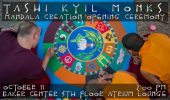 Tashi Kyil Monks to Create Sand Mandala, Opening Ceremony Oct. 11